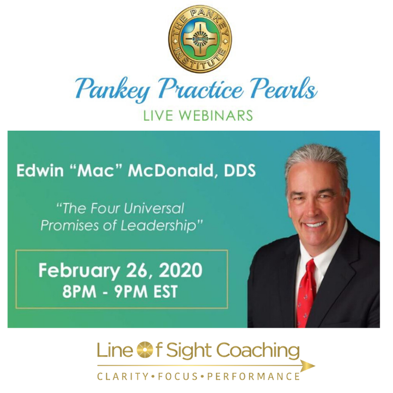 Line of Sight Coaching - Webinar: The Four Universal Promises of Leadership